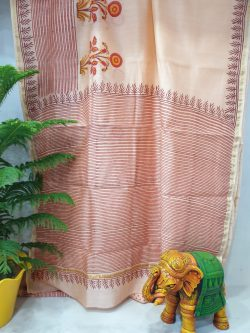 Party Wear Chanderi Saree (12)