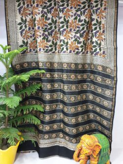 Party Wear Chanderi Saree (16)