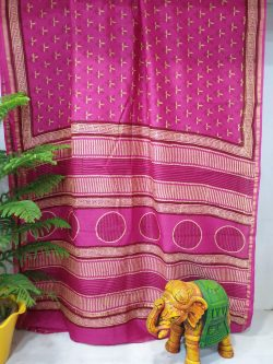 Party Wear Chanderi Saree (3)