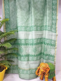 Party Wear Chanderi Saree (5)