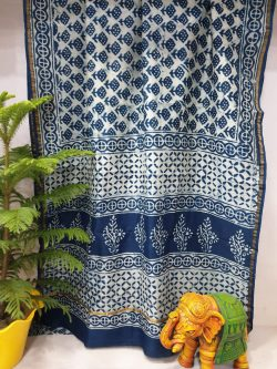 Party Wear Chanderi Saree (8)