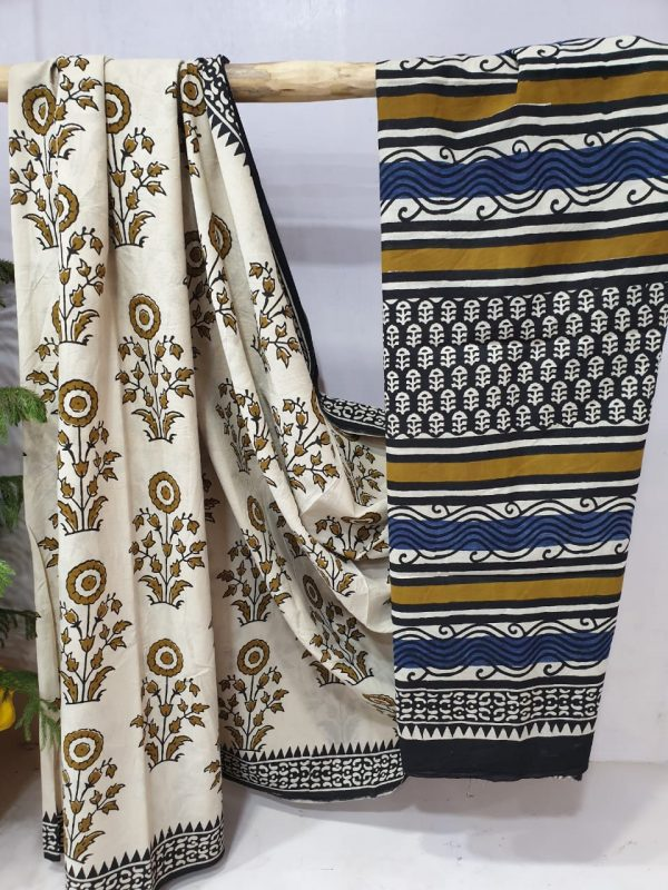 Cotton Mulmul Saree (1)
