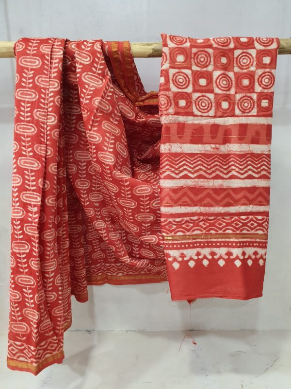Office wear Blush Pink Chanderi saree with blouse