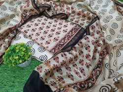 Bagru Print Chanderi Suit (4)
