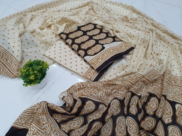 Cotton Dupatta Suit (5)