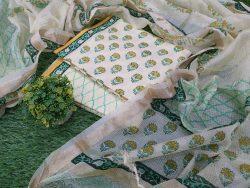 Cotton Suit Floral Print