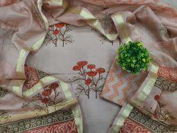 Floral Print Cotton Suit (2)