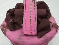Shibori Pink Suit