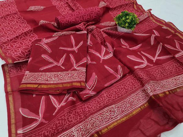 Crimson Color Suit (1)