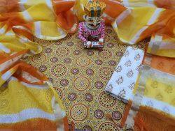 Bagru Print Cotton Suit