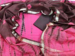 Pink Shibori Print