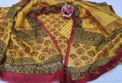 Yellow Chanderi Suit