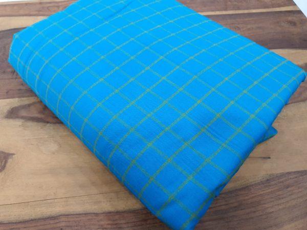 Azure blue Cotton running material set