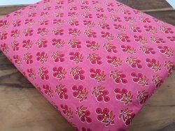 jaipuri Pink Pure cotton runing material set