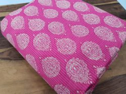 Beautiful Pink Pure cotton runing material set