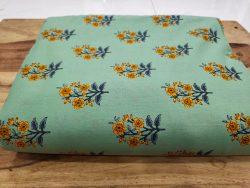 Emerald Green Pure cotton runnning material set