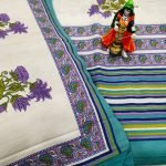 White Cotton bedsheet for double bed