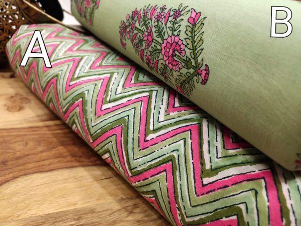 Emerald pure cotton running dress material set