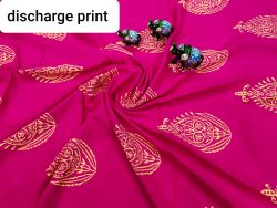 Superior quality Ruby rayon running matreial set