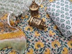 White floral print pure cotton ethnic wear salwar Kameez suits online