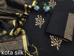 Black designer suits for office wear