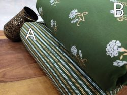 Green Pure cotton running fabric set