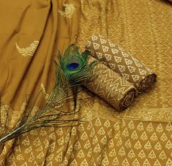 Goldenrod cotton suit pieces with price