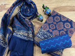 blue maheshwari silk suit ethnic ladies suits online