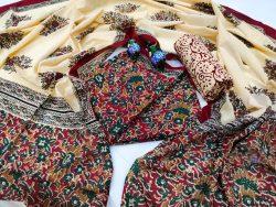 Sangria cotton salwar suits dress