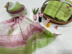 Dull Green salwar suits for office wear