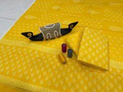 Yellow cotton dupatta suits wholesale