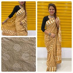 Bronze cotton sarees online india