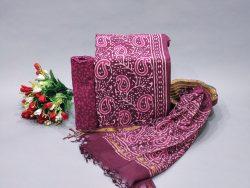 Byzantium ladies dresses for office wear Cotton suit kota doria dupatta