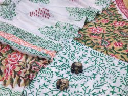 White And Medium Champagne cotton dupatta suits With dupatta online