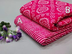 Ruby pure cotton running material set