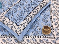 Beau Blue bedsheet with 2 pillow cover
