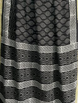Black daily wear saree online shopping